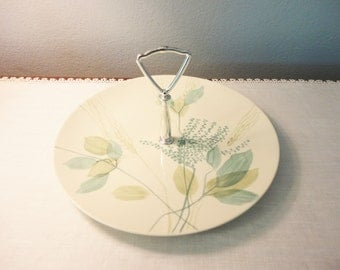 Red Wing Merrileaf Serving Platter with Handle
