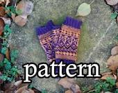 Pattern: Geometric Gloves
