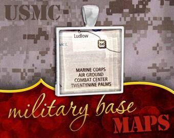 U.S. Marine Corps Pendant: 29 Palms