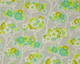 Heather Bailey Lottie Da Sprig Dove Fabric, 1 Yard