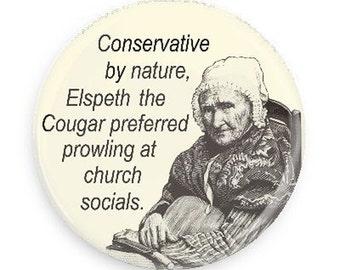 Funny Birthday Gift, Funny Cougar Fridge Magnet-Women's Humor