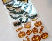 Halloween Stickers, Foam Stickers, Foam Halloween Stickers, Glitter Sticker