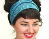 Dread Wrap / Headband in Turquoise