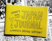 BUNNY'S JAPAN JOURNAL deluxe edition : vol.1 & 2 - zine by Bunny Bissoux