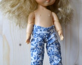 Cottonpants with flowerprint for Lati Yellow