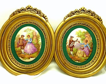 Fragonard Courtship Cameo Reproductions by B & S Creations New York, NY