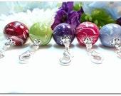 Remembrance Jewelry, Keepsake Jewelry, Dried Flower Jewelry, Memory Jewelry, Memorial Keepsake, Memorial Baby, Large Bellabead Charm