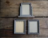 vintage carved wooden frames