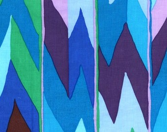 CLEARANCE Brandon Mably BM01 Casbah Sky Cotton Fabric 1 Yard