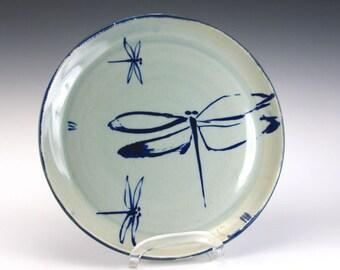 Porcelain Dragonfly Platter