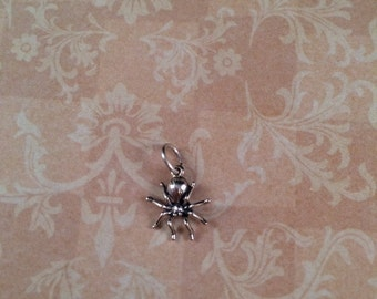 Sterling Silver Spider Mini Charm