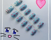 I Dream of Fishy Nail Art Hand Painted 12-Piece Set