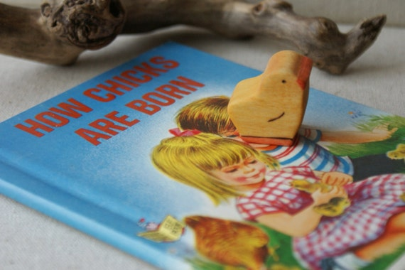 Vintage Book and Toy- Chick