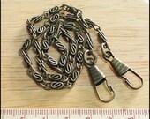 Antique Brass Purse Chain 30 cm. Bag / Purse / Clutch Supply
