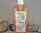 Gentle Liquid Facial Soap Wash with Green Tea Extract - 8 ounces