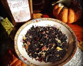 Pumpkin Pie, Loose Leaf, Black Tea