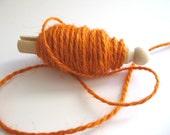 jute twine-orange (10 yds)