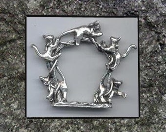Cat Napkin Rings set of 6
