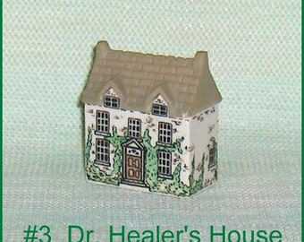 Dr. Healer's House Number 3   Wade Whimsey on Why  Porcelain Building