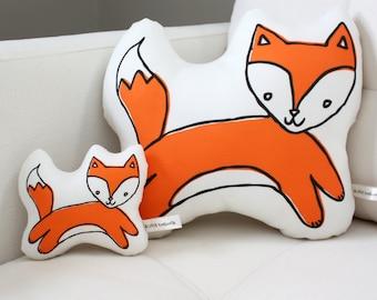 Fox Pillow - MINI - Plush - Plushie - Softie