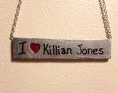 "I ""Heart"" Killian Jones Pendant (regularly 25 dollars)"