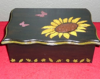 Sunflower music box