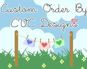 Custom Listing for Cindy (tortoiselovesthehare)