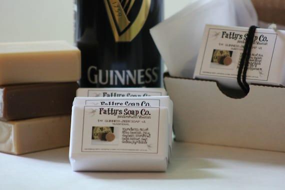 Suds Sampler - Guinness Beer Soap - Gifts for Men - Rectangular