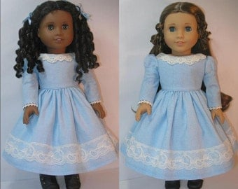 1853-1026  18 Inch Doll Clothes Dress for Marie Grace  or Cecile