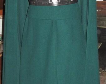 Wool cloak without hood,vest & sash/obi, 3 pcs costume