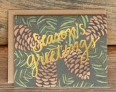 Seasons Greetings Box set of 8
