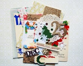 Christmas Ephemera Pack / Christmas DIY Kit / Junk Journal / Daily Planner