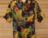 Vintage Aloha Shirt Size L ch 50