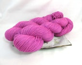 Hand Dyed Sock Yarn, Merilon Sock, Superwash Merino Nylon - Daphne