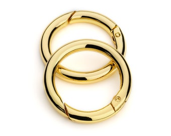 "50pcs - 1 1/4"" Gate-Ring - Gold  - Free Shipping (GATE RING GRG-118)"