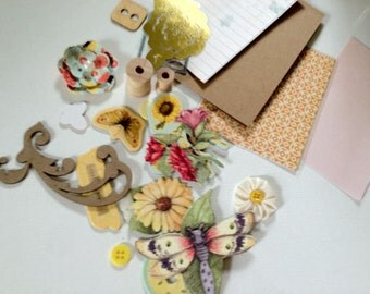 Bloom and Grow Mini scrapbooking Kit