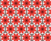 Riley Blake Designs - Mod Studio Cottons Collection - Mod Damask in Red