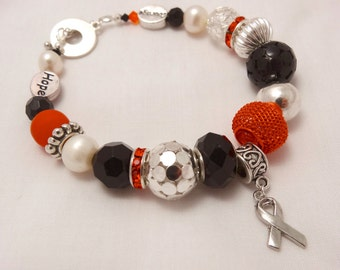 FIND A CURE Multiple Sclerosis Charm Bracelet