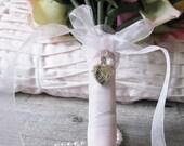 Bridal Bouquet Locket, Sterling Heart Locket, Wedding Keepsake, Photo jewelry,in memory of