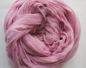 Cheesecloth, Newborn Wrap Photography Prop, Blush Pink Cheesecloth, Baby Wrap, Newborn Photo Prop, Newborn Cheeseclth Wrap, Gauze