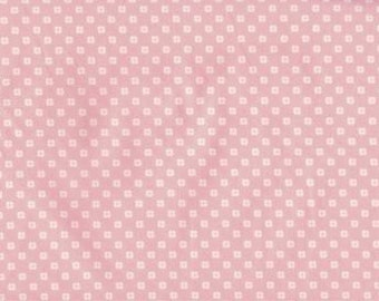 Exclusively Quilters • Melodies • Blüte rosa cotton fabric 0.54yd (0,5m) 001442