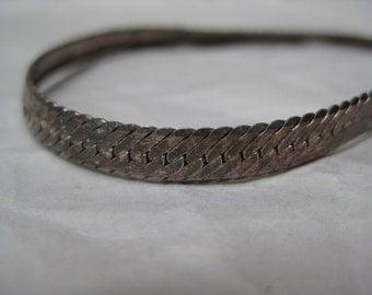 Sterling Bracelet Vintage Silver 925