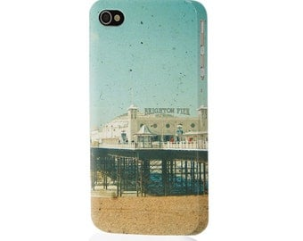 Beach Phone Case. Hard Case for iPhone 4/4S, 5/5S, 5c, 6, 6 Plus and Samsung Galaxy S3, S4. - Brighton Pier