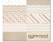 Sweet Pearl Sweet Essential Designer Series Digital Paper Collection | Great for Scrapbooking & Photographers | Instant Download | PE8016