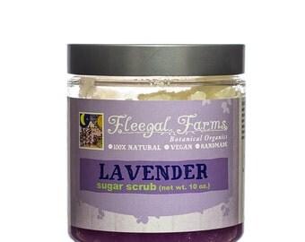Fleegal Farms Lavender Sugar Scrub Vegan