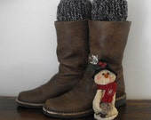 50% Off Boot Cuffs Toppers Hand Knit for Women and Teenagers