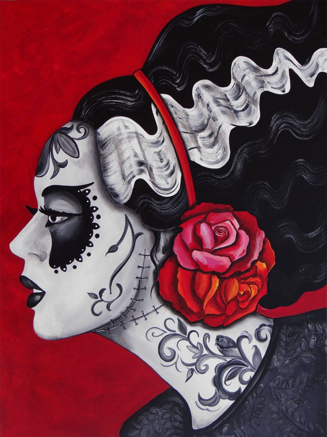 Day Of The Dead Art By Melody Smith Franky S