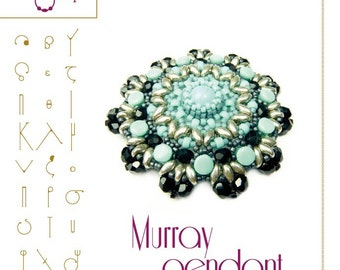 pendant tutorial / pattern  Murray pendant...PDF instruction for personal use only