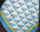 Baby Boy Quilt in Tug Boats