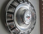 1970 Ford Mustang Hubcap Clock no.2136